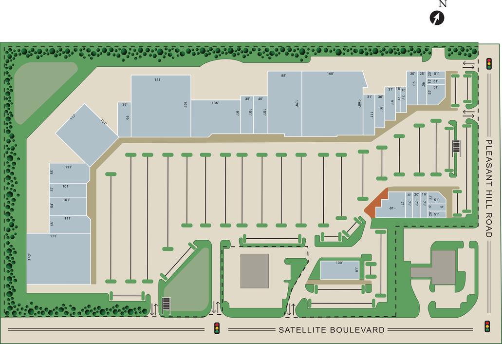 Duluth Ga Gwinnett Marketfair Retail Space For Lease