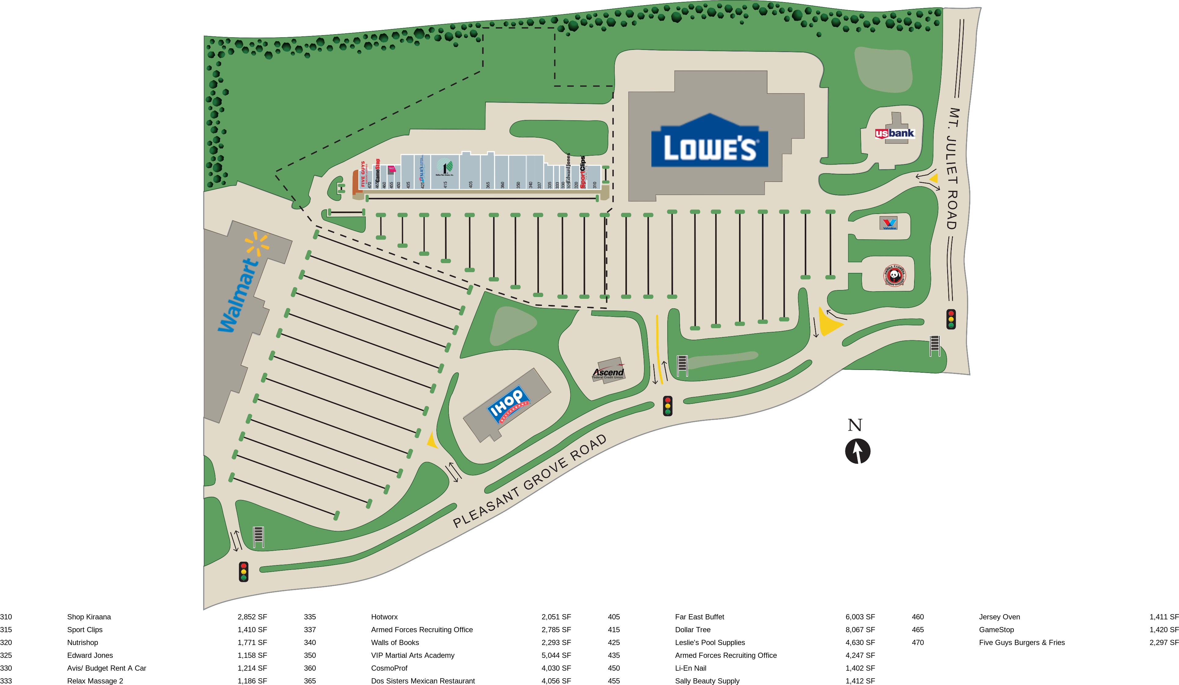 Mt Juliet TN: The Paddocks at Mt Juliet - Retail Space For Lease ...