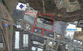 Walmart White Horse Rd >> Greenville SC: Shoppes at Woodruff - Retail Space For Lease - Rivercrest Realty