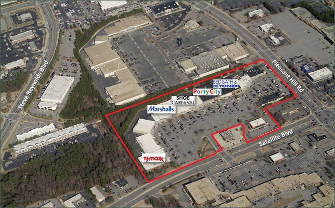 Duluth Ga Gwinnett Marketfair Retail Space For Lease