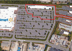 Shoppes at Garner: Aerial
