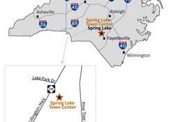 Spring Lake Town Center: Map